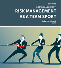 Ethisphere/Opus: Risk as a Team Sport