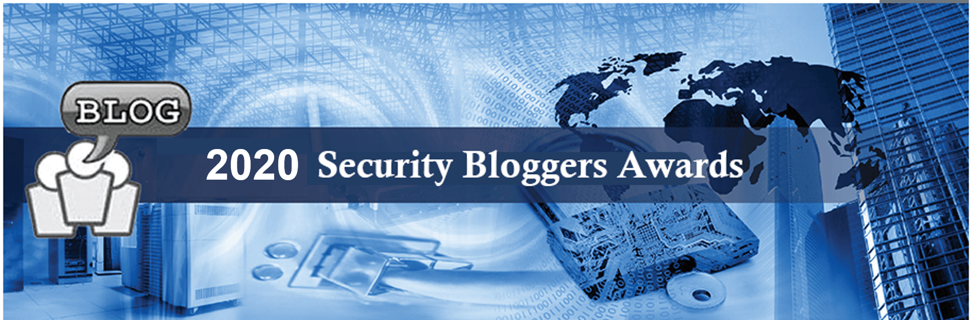 2020 Best New Blog - Security Bloggers Awards